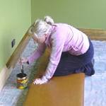Как покрасить плинтус