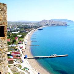 курорт Судак в Крыму