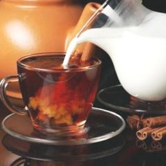 польза чая с молоком
