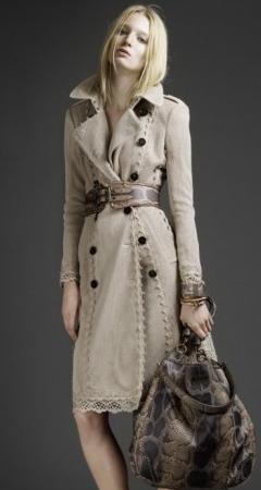 модное весенней пальто
