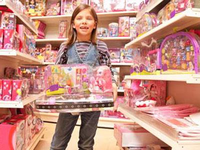 отдел игрушек для девочек