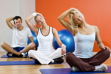 йогалатес упражнения