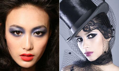 макияж колдуньи на праздник хэллоуин