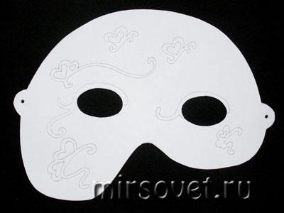 карнавальная маска для Хэллоуина