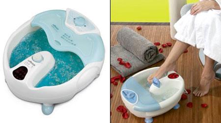 функции массажной ванночки для ног