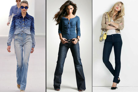 модная джинса лета 2012