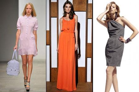 модные платья лета 2012