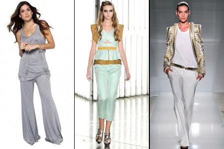 модные летние брюки 2012