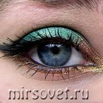 Новогодний макияж глаз: пошаговый мастер-класс с фото
