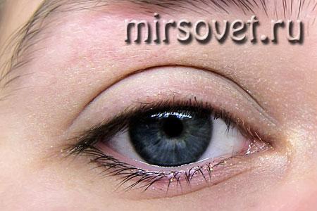 как сделать новогодний макияж глаз
