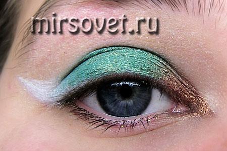 макияж на новый год пошагово