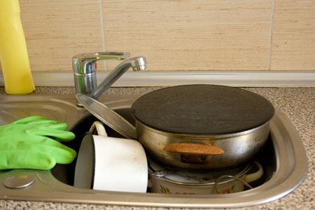 как очистить кастрюлю от нагара