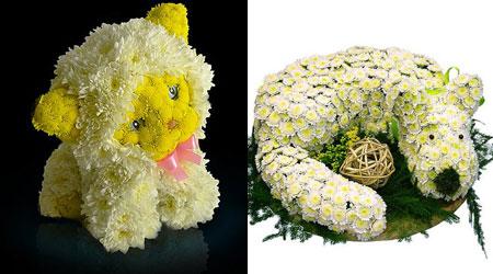 цветочные игрушки