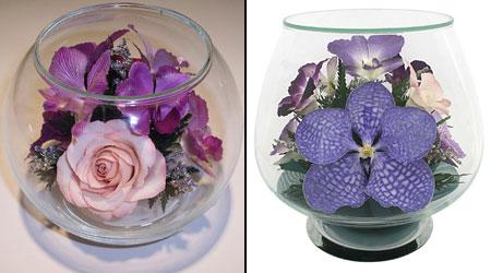 цветочные композиции в стекле