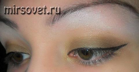 стрелки для повседневного макияжа