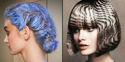 прически с окрашиванием волос