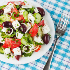 приготовить греческий салат
