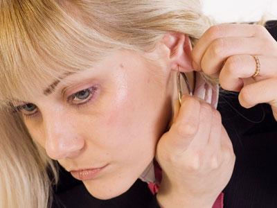 серьги для чувствительных ушей