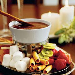 приготовление шоколадного фондю