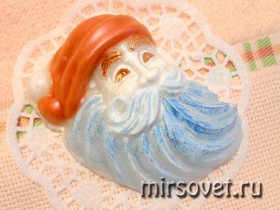 сувенирное мыло Дед Мороз