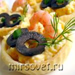 Как приготовить тарталетки с начинкой: рецепт с фото