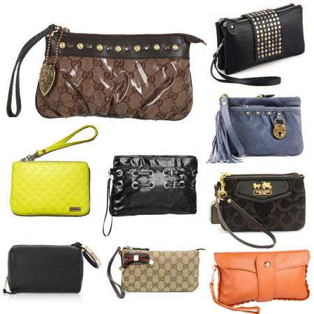 модели сумки wristlet