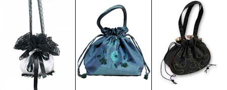 форма сумки-кисета pouch
