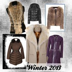 верхняя одежда зима 2013