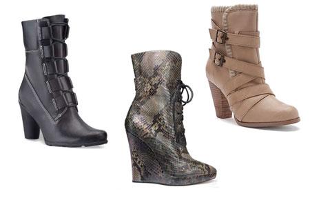 зимняя женская обувь 2013