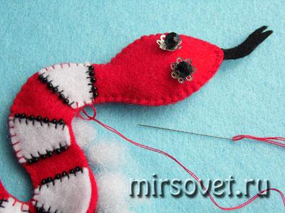 сшивание и набивание мягкой игрушки