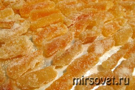 как сделать апельсиновые цукаты