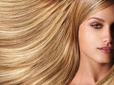 брондированные волосы
