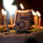 день рождения 5 лет