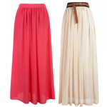 С чем носить длинную юбку: советы стилистов