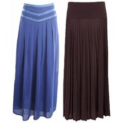длинные юбки с чем носить