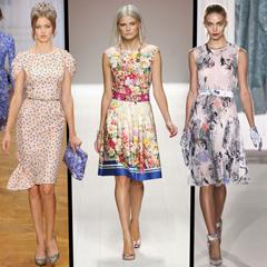 модные тенденции весна 2013