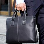 Мужские кожаные деловые сумки