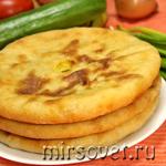 Осетинские пироги с картошкой: рецепт с фото