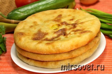 осетинские пироги готовы