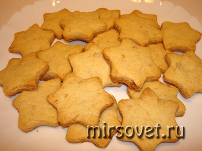 готовое печенье на Рождество
