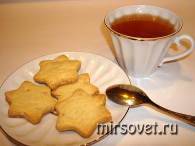 рождественское печенье к чаю