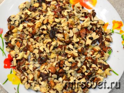 рубленый грецкий орех