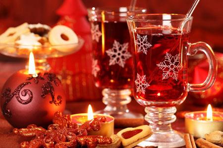 рождествеские напитки