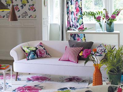 текстиль в дизайне интерьера