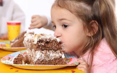 угощение на детском празднике