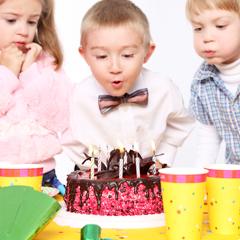 организовать детский праздник дома
