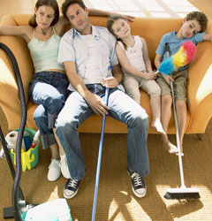 как экономить время на уборке квартиры