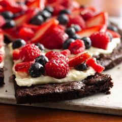 рецепты легких фруктов-ягодных десертов