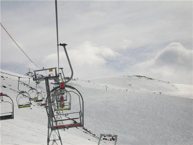 горнолыжный курорт Домбай