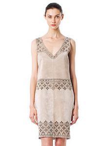платье с ажурной отделкой